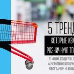 5 трендов, которые изменят розничную торговлю